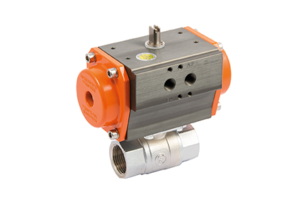 2 and 3-way ball valve, brass body.