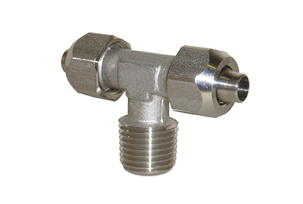 "Push on fittings in AISI316 stainless steel, tubes from ø6 to ø10 mm,  threads from 1/8"" to 1/2"""